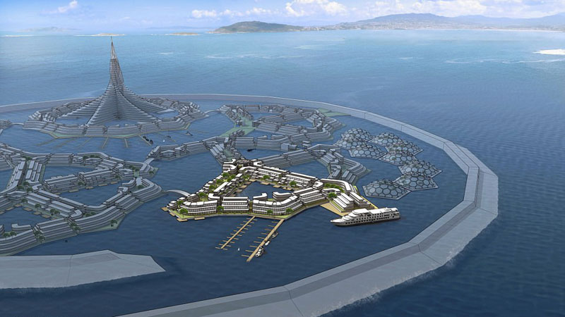 World's first floating city to be built in the South Pacific by 2020