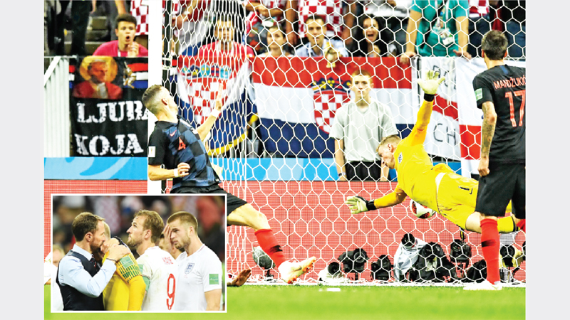 Croatia deny England to reach WC final