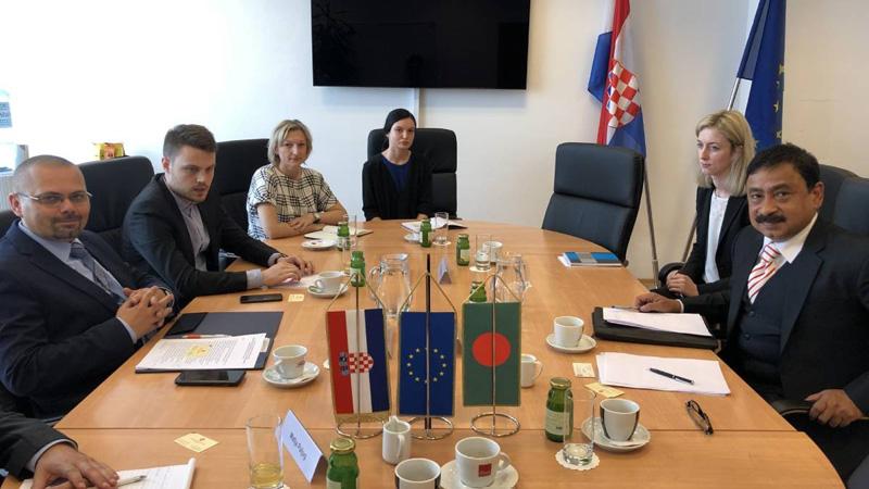 Croatia to recruit manpower from Bangladesh