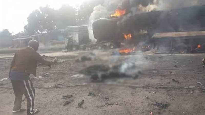 Fifty dead in Congo tanker truck fire