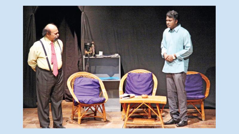 'Devi' from Humayun Ahmed's novel at Shilpakala today