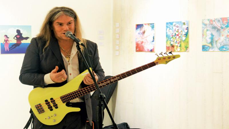 Magnus Rosen enthrals Dhaka audience