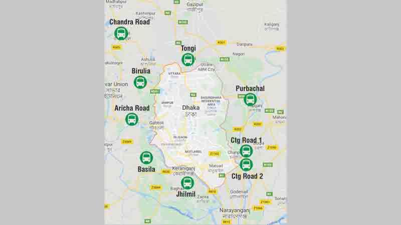 Govt embarks on big plan to clear Dhaka gridlock