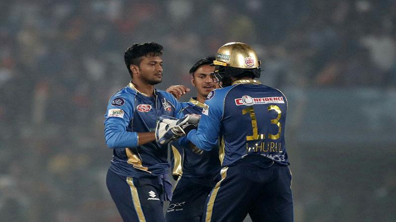 Dhaka thrash Rajshahi in one sided match