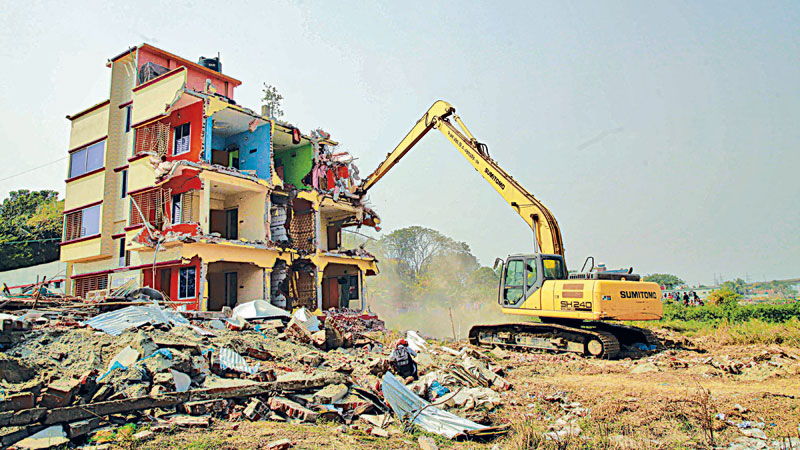 29.60 acres of Dhaleshwari land allegedly occupied