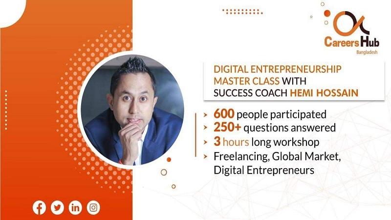 Digital entrepreneurship master-class held in city