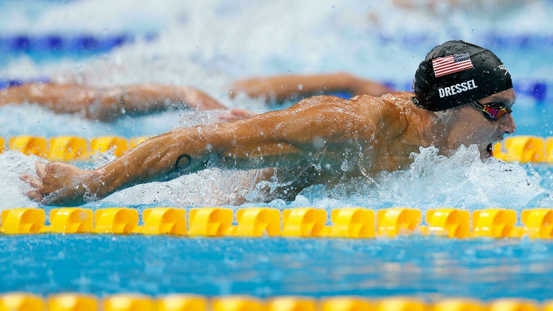 Dressel shatters world record to win Olympic 100m butterfly gold medal