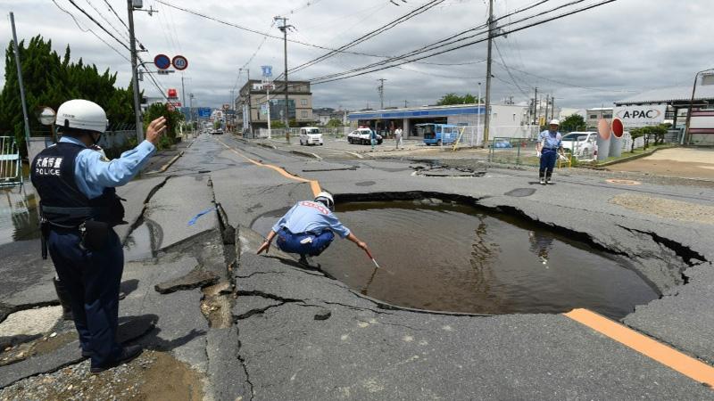 3 dead, 200 hurt as strong quake jolts Japan's Osaka