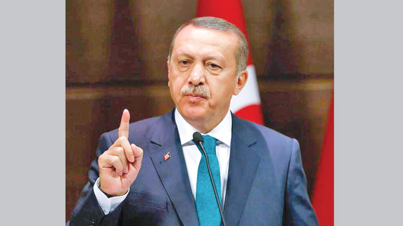 Erdogan calls for fight on Islamophobia like anti-Semitism