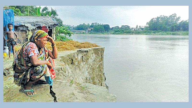 Erosion by Jhenai, Bonsai rivers worsens