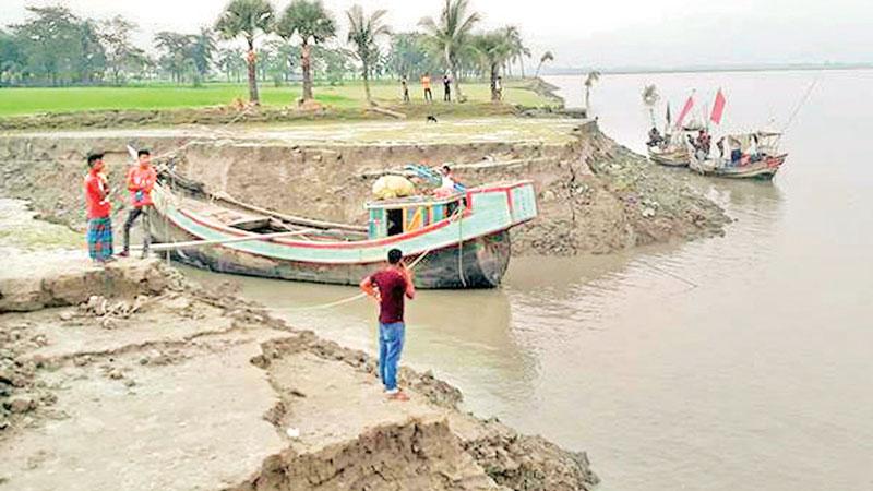 Erosion plays havoc at Companiganj