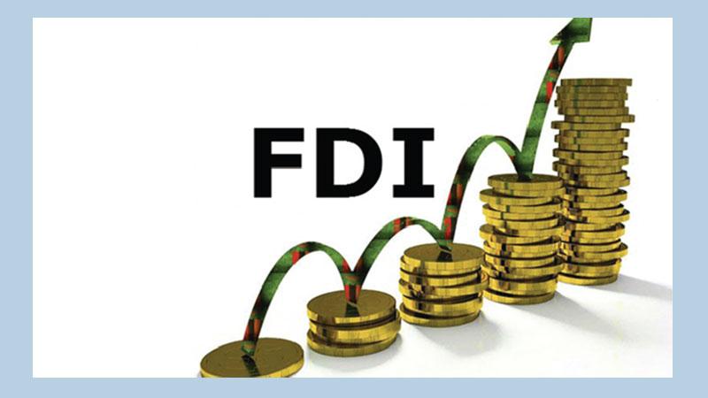 FDI increases by 50.73pc