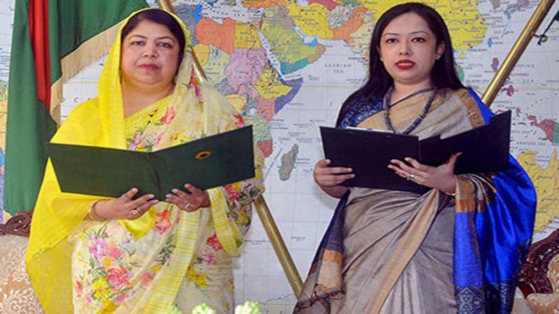 BNP's Rumeen Farhana takes oath