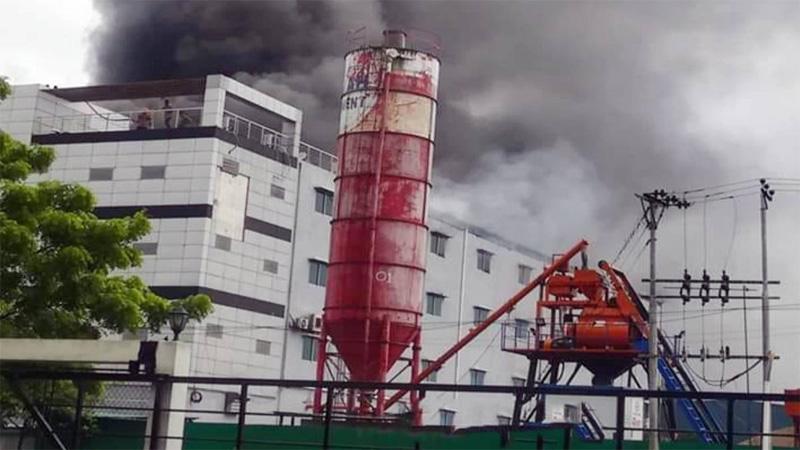 Cumilla EPZ fire brought under control