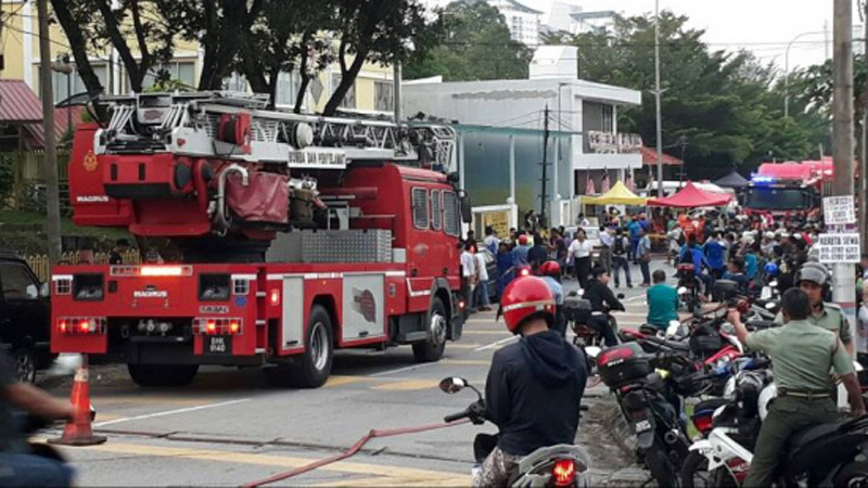 Deadly fire in Malaysia kills 25