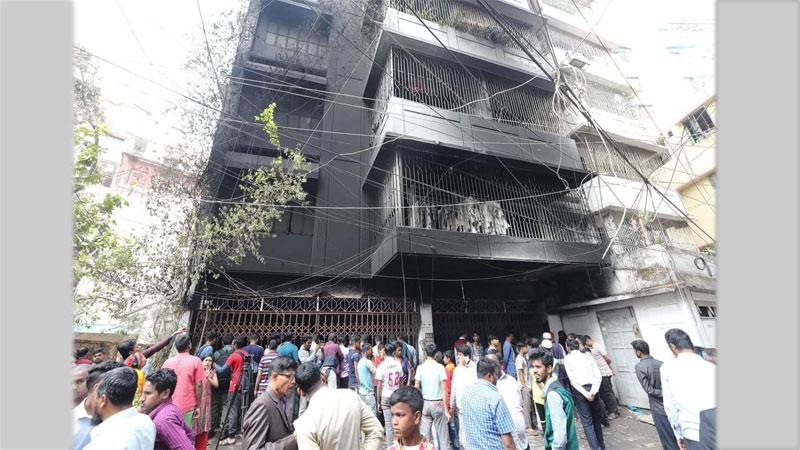 3 die in Dhaka residential building fire