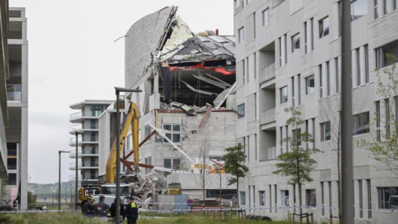 Five dead in Belgium school collapse