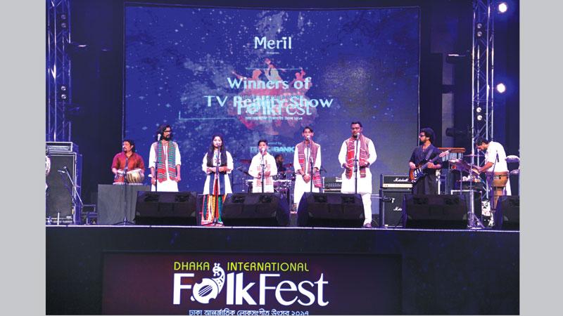 Dhaka Int'l Folk Festival 2017 kicks off