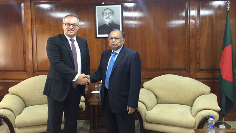 Bangladesh wants stronger ties with Nordic countries