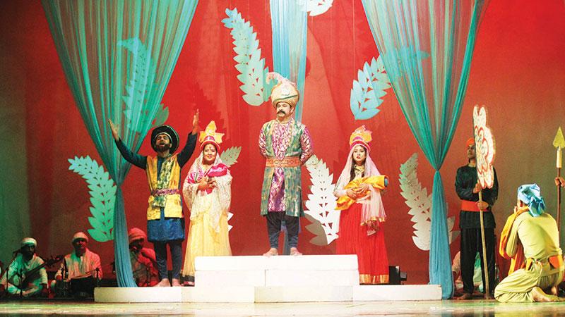 'Gahar Badshah O Banesa Poree' to be staged today