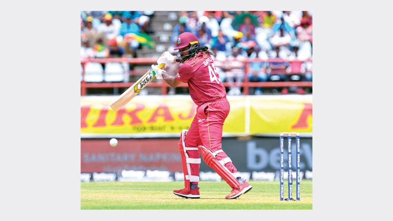 Gayle awaits breaking Lara's aggregate ODI run record