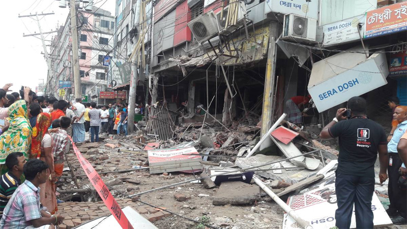 Probe body formed over Gazipur hotel blast