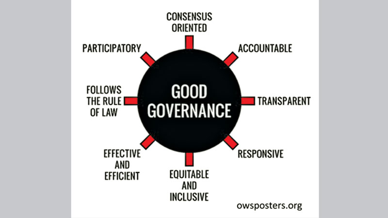 Good governance : A key consideration  in public sector