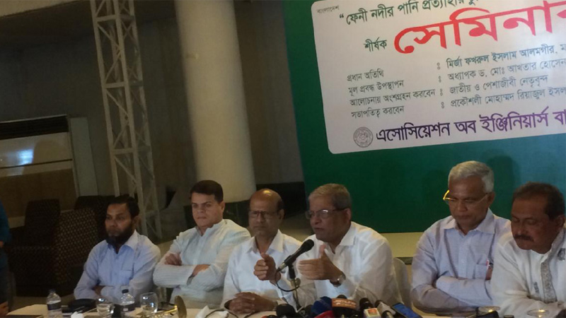 Govt 'lacks capacity' to bargain with India: BNP