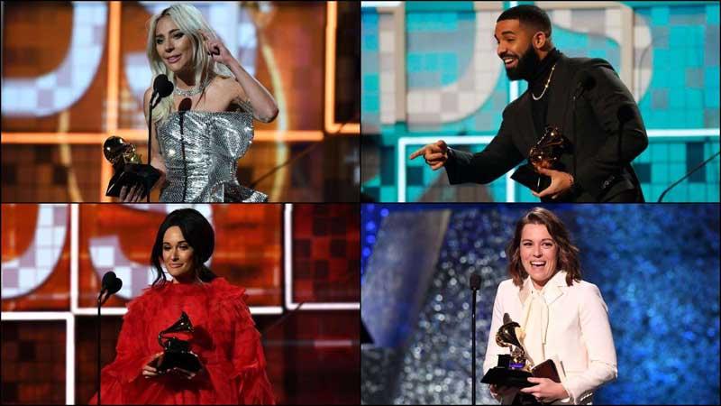 Grammys 2019: Lady Gaga, Ariana Grande, Drake emerge early winners
