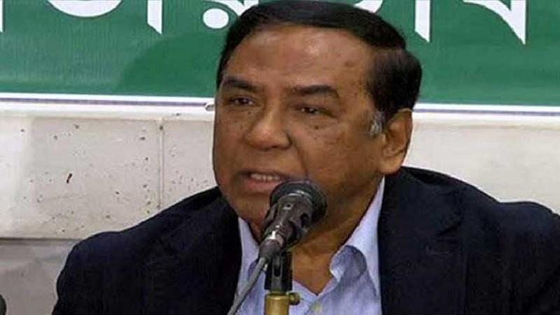 BNP leader Hafiz for street movement to 'oust govt'