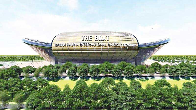Sheikh Hasina International cricket stadium to be built within 2 years