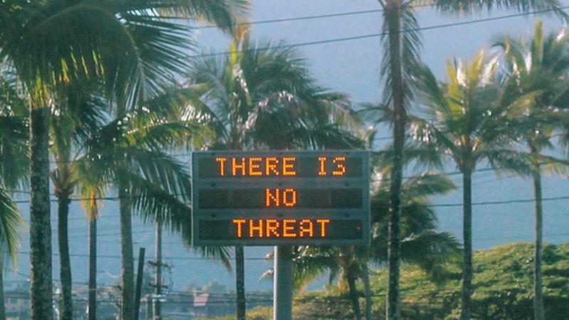 Hawaii ballistic missile false alarm prompts panic