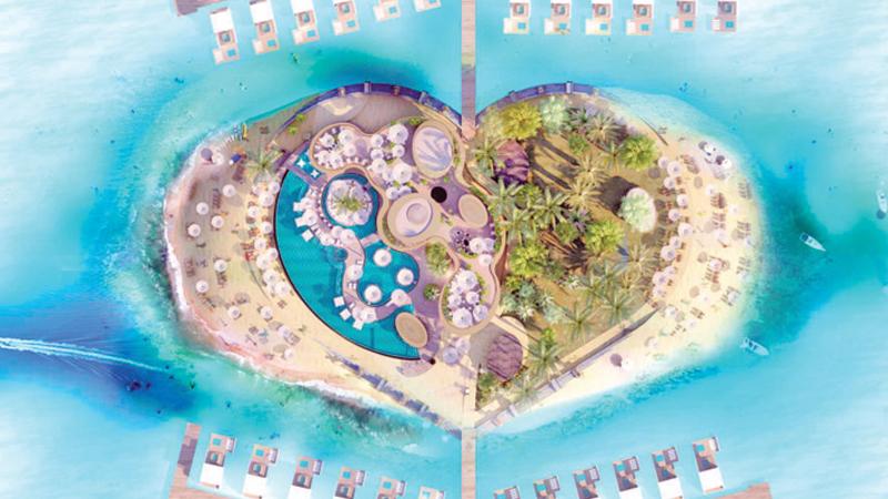 'The Heart of Europe' to rise off Dubai coastline