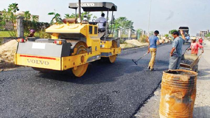 Highways run into bitumen gap
