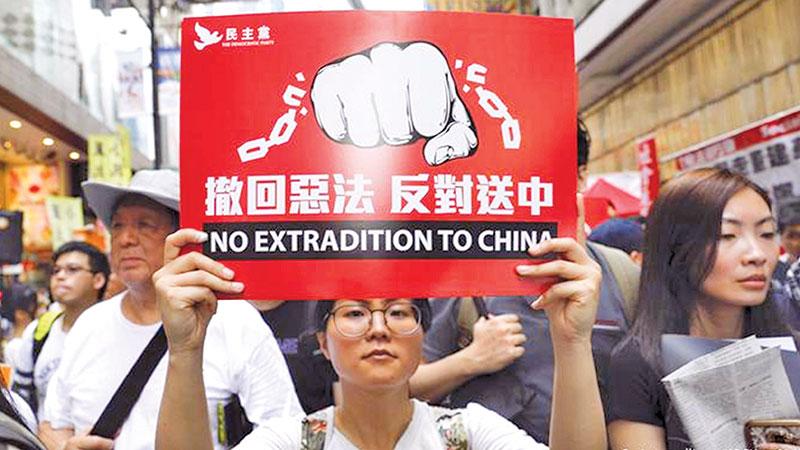 Hong Kong is losing room to manoeuvre