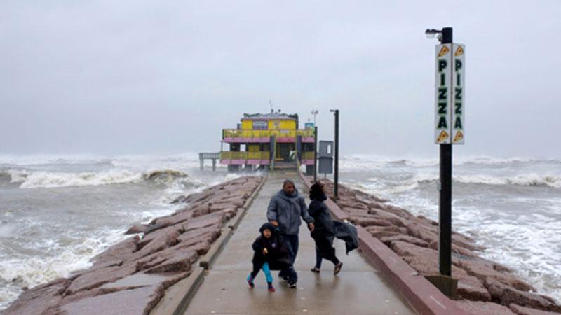 Hurricane Delta roars ashore on storm-battered US southern coast