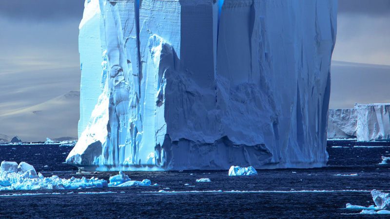 Iceberg twice the size of New York City set to break off from Antarctica