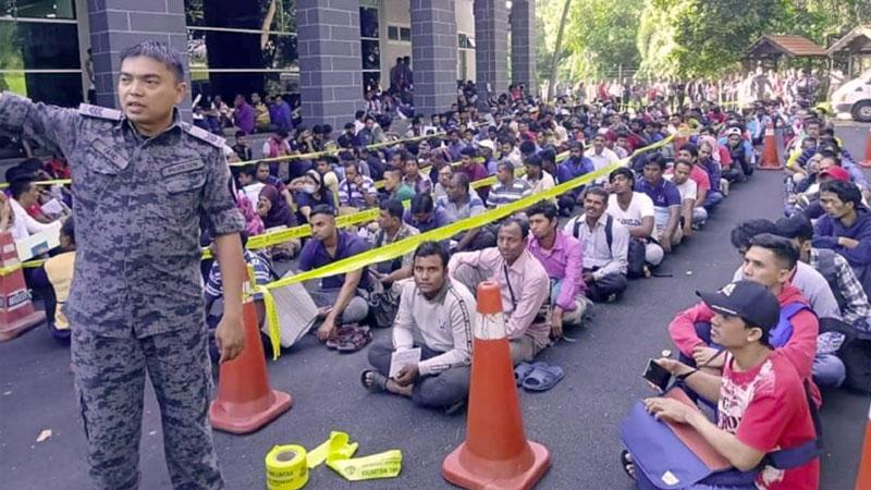 Illegal migrants race against time as Dec 31 deadline looms