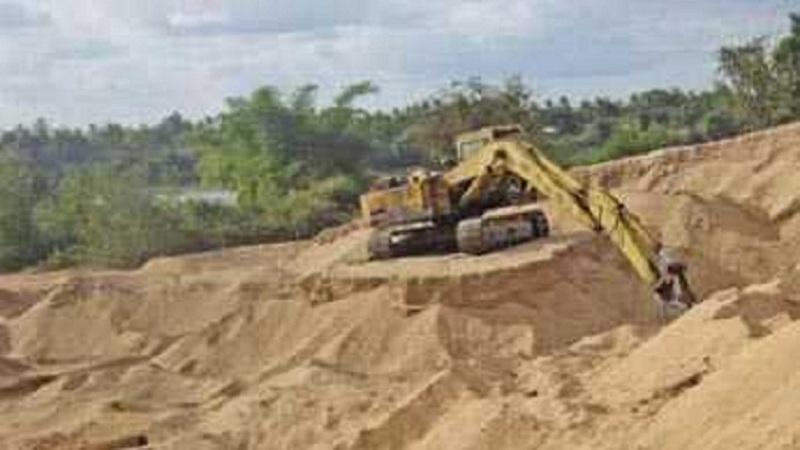 Illegal sand mining: Sunamganj's biggest challenge