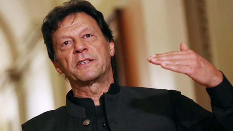 Imran Khan likens inaction over Kashmir to appeasing Hitler