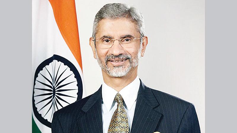 Indian External Affairs Minister arrives