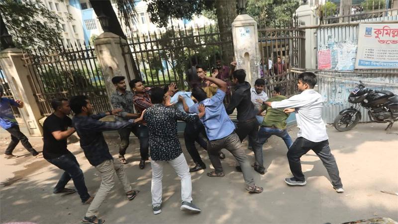 JCD men come under attack at DU; 4 injured