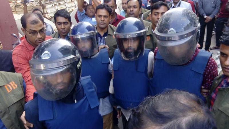 4 JMB men held in Bogra