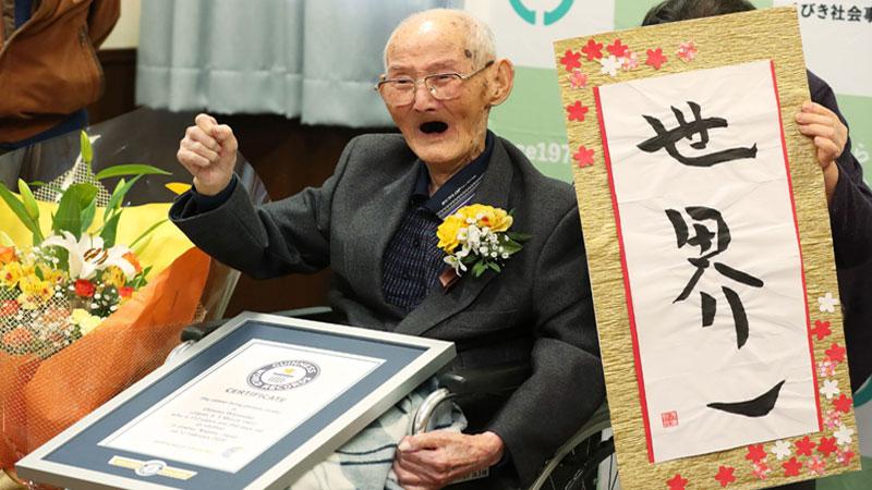 World's oldest man dies in Japan at 112