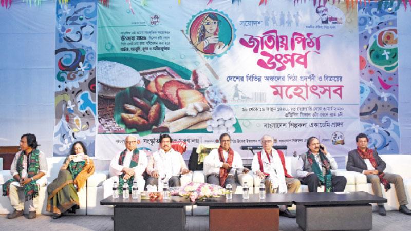 'Jatiya Pitha Utsab 1426' begins at Shilpakala