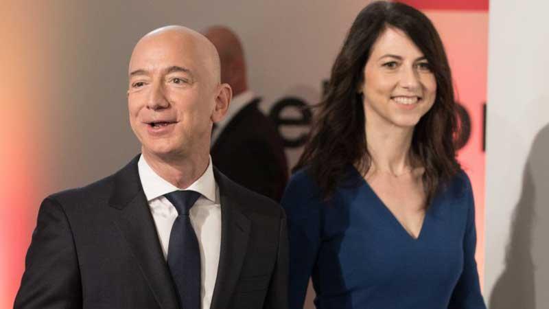 Amazon boss Jeff Bezos and wife MacKenzie to divorce