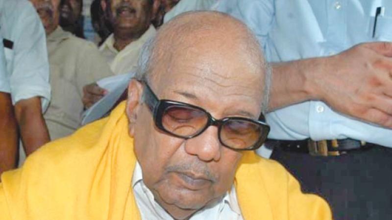 The legacy of Karunanidhi