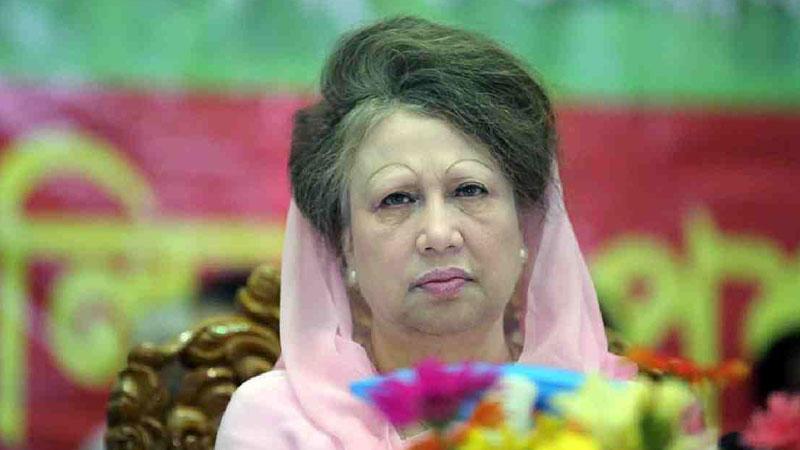 Khaleda Zia enjoys Eid with family members