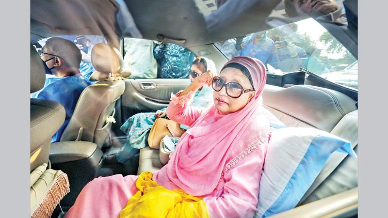 Khaleda freed for 6 months