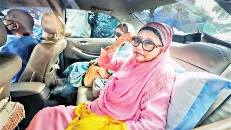 Govt turns down family's application to send Khaleda Zia abroad
